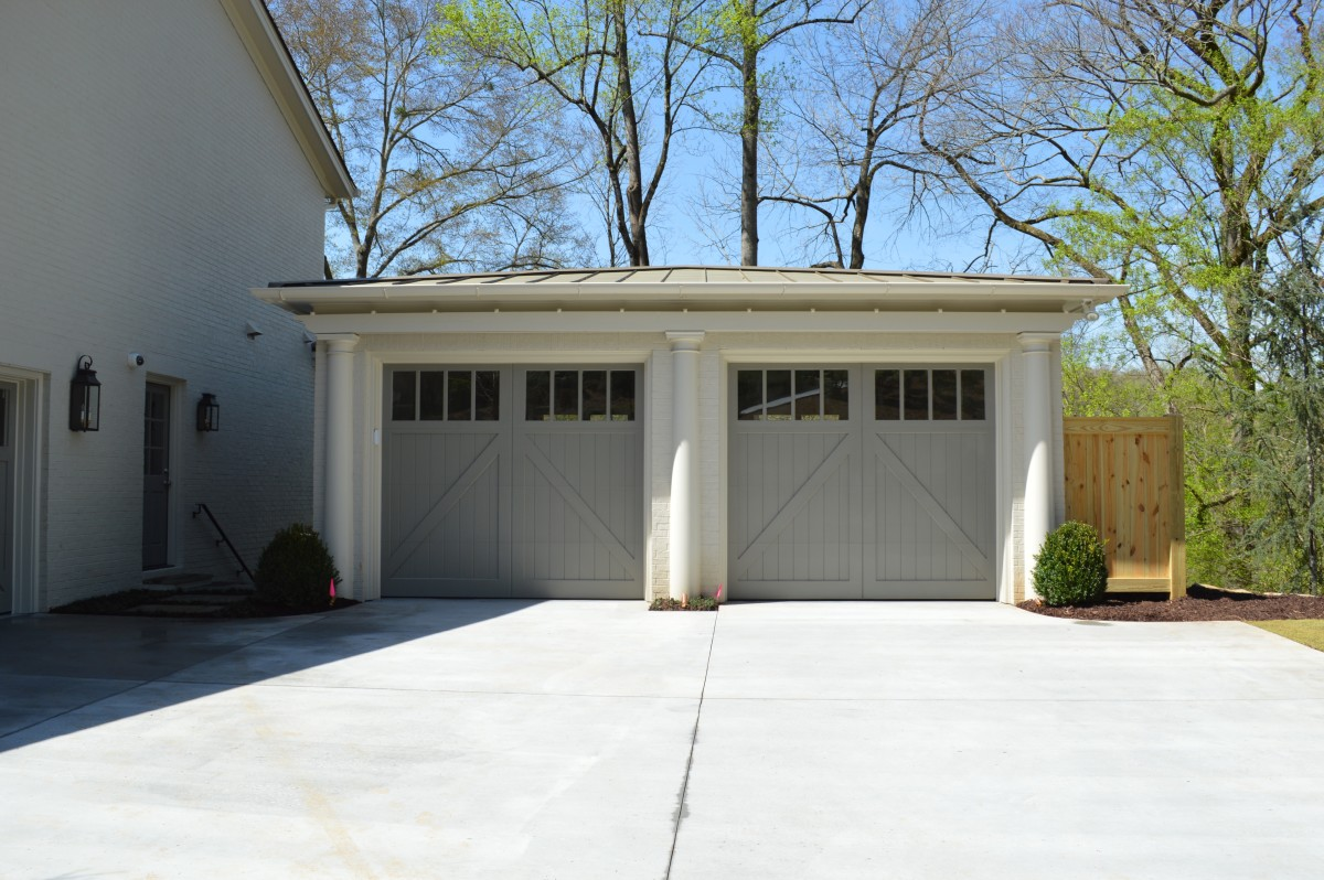 new detached two car garage