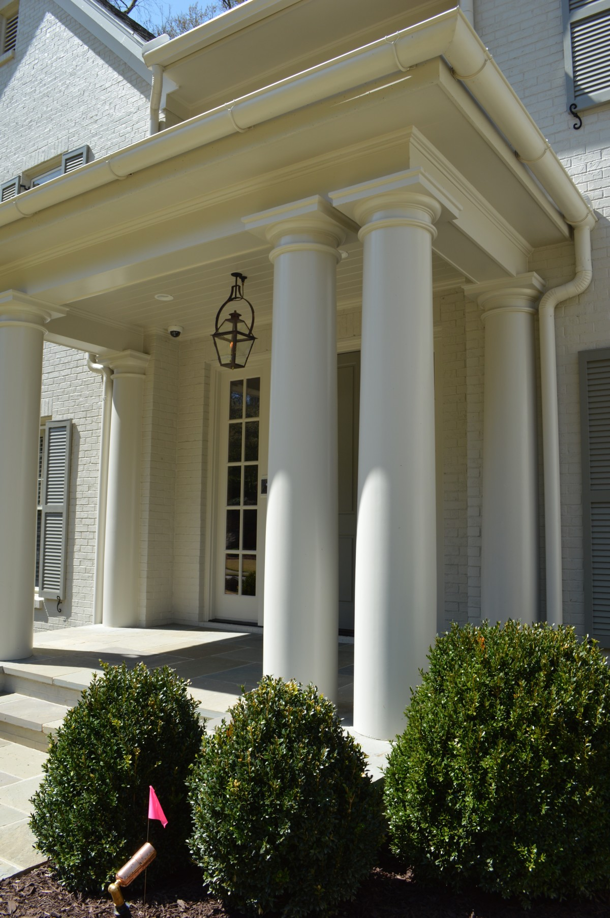 new front entry columns